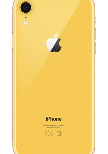 Apple iPhone XR 64GB (желтый)